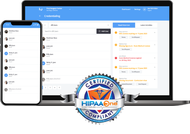 HIPAA compliant cloud-based solution